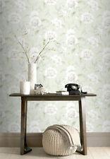 Wallpaper Rasch - Luxury Designer Boutique Floral Design - Soft Green - 226157-1