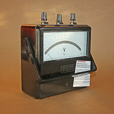 Vintage Yokogawa Electric Works type 1973 Portable 30 VOLT Meter