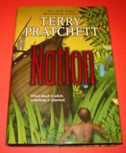 Nation by Terry Pratchett (2008, Hardcover) Like New 1st Ed