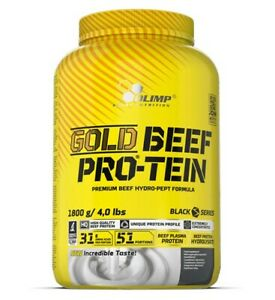 Olimp Gold Beef Pro-Tein 1800g Strawberry