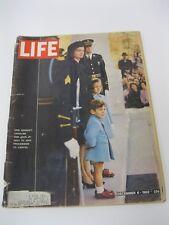 LIFE MAGAZINE December 6, 1963 President Kennedy Funeral BACK COVER MISSING