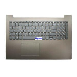 New for Lenovo Ideapad 330-15ICH keyboard palmrest&touchpad w/Backlit Black-Gray