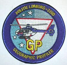 Niederlande LIMBURG Hubschrauber POLIZEI  Aufnäher Patch Police