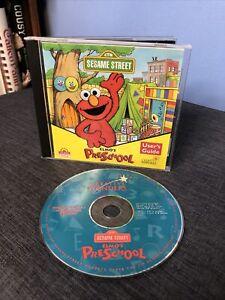 CREATIVE WONDERS SESAME STREET ELMOS PRESCHOOL CD w/ ORIGINAL CASE & USERS GUIDE
