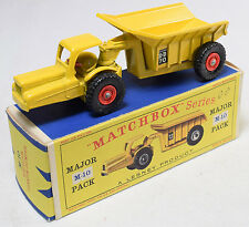 MATCHBOX #M-10 DINKUM DUMPER, RPW NEAR MINT W/ GOOD BOX