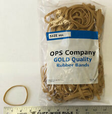 Lot of 4 Bags of Rubber Bands Net Wt 1 lb/Bag #64 Total of 4 LBS  Width at 1/4""
