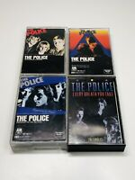 The Police-LOT OF 4 Cassettes