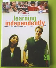 BOOK - A GUIDE TO LEARNING INDEPENDENTLY MARSHALL 4th EDITION