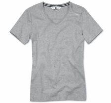 Original BMW Camiseta de Señoras Cuello de Pico Gris Mezcla GR.S