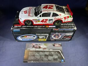 F7-78 KYLE LARSON #42 CARTWHEEL BY TARGET / CA RACED WIN - AUTOGRAPHED - 2014