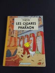 TINTIN-LES CIGARES DU PHARAON-B15-EO couleur Française