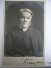Marcus Dods Signed Photo Undated - Bible
