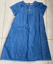 Mini Boden Girls 11-12 Denim Dress