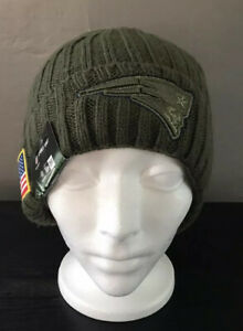 NEW ENGLAND PATRIOTS NEW ERA ON FIELD SPORT KNIT BEANIE NFL Hat New With Tags