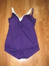 3011863d375 Vintage Robby Len swimsuit PURPLE vikings color ladies 16