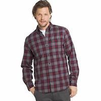 G.H. Bass & Co. Men's Fireside Flannel Long Sleeve Button Down Shirt