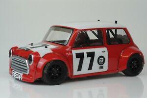 PHAT BODIES Miglia Mini Cooper body shell 210 M chassis Tamiya M05 Xpress FM1S