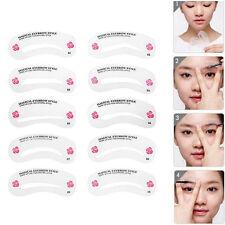 DIY Tool Kit Template Eyebrow Shaping Stencils Grooming Makeup Shaper 24 Styles