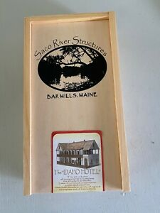 Bat Mills Scale Models-Saco River Structures-The Idaho Hotel-HO Scale Kit