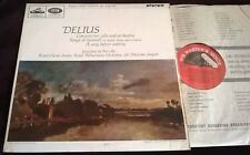 Du Pre Sargent Delius Cello Concerto LP HMV ASD 644 Stereo UK ED1 FACTORY SAMPLE