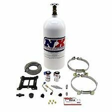 Nitrous Express ml1000 Mainline Holley 4150 4bbl Plate Kit System NOS Bottle