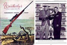 Weatherby 1956-57 Fine Firearms Catalog