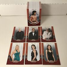 AMERICANA 2009 DONRUSS Complete Trading Card Set PICS OF CELEBRITIES Jackie Chan