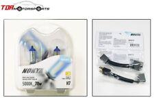 NOKYA H7 Cosmic White 5000K 70W Halogen Light Bulbs+Wire Harnesses