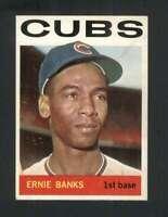 1964 Topps #55 Ernie Banks EX/EX+ Cubs 124534