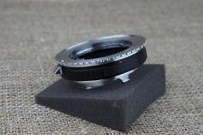 Rollei QBM QB Rolleiflex TO Leica M LM camera mount Adapter 9 8 7 6 planar 50mm