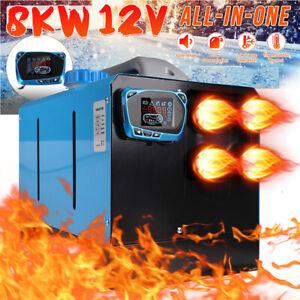 12V 8KW Diesel Auto Heizung Standheizung Luftheizung Air Heater LCD PKW LKW✅Neu✅