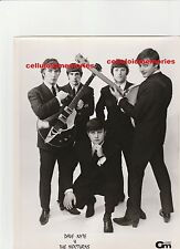 Original Photo Dave Nyte & The Nocturns 1960's Press Issue Stamped on Back