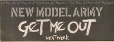25/8/90 Pgn36 Advert: New Model Army get Me Out Coming Out Next Week 4x11
