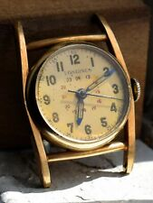 Longines military watch WWII 10k gold filled Runs and stops
