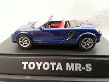 Toyota MR-S Blue 1:43 EBBRO