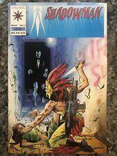 Shadowman 1 - 1st Full And Origin Of Shadowman - May 1992 - NM