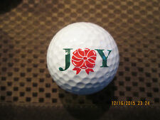 Logo Golf Ball-Joy.Christmas Related.