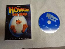 """USED DVD MOVIE """"HOWARD The Duck""""  """"GU"""