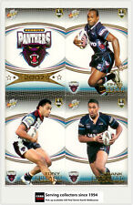 2007 Select NRL Invincible Trading Cards Base Team Set Panthers (12)