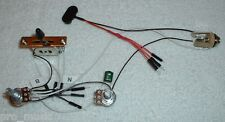 EMG Solderless EZ-INSTALL Wiring KIT 3 ACTIVE Pickups 1V 1T 5-Way BLACK **NEW**