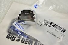 Silverado Sierra Tahoe Suburban Rear Chrome License Plate LAMP new OEM 15049281