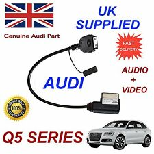 AUDI Q5 4F0051510R For iPhone 4s some iPod AUDIO & VIDEO Cable model 2011+