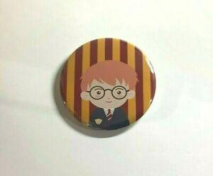 58mm Harry Potter Inspired Pin Badge Birthday Teacher Party Bag  Gift Christmas