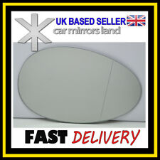 Right Driver Side Wing Mirror Glass WIDE ANGLE  BMW MINI COOPER MK2 07-13