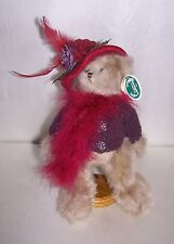 Bearington Bear Collectible Series 'Duchess Of Plume' New 11""
