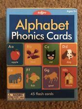 eeBoo Alphabet Phonics Cards in Box 45 Flash Cards