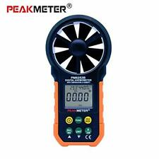 Digital LCD Display Anemometer with USB Interface Anemograph Tool for Wind Speed