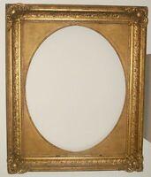 125 x 102 cm Gemälde Bilderrahmen Antique Frame Barock Rokoko Foto Goldrahmen