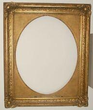 125 x 102cm pintura marco de fotos ANTIGUO Frame Barroco Rococó oro