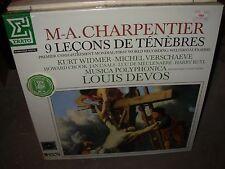 DEVOS / CHARPENTIER 9 lecons de tenebres ( classical ) box set SEALED NEW